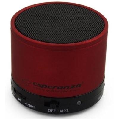 Głośnik mobilny ESPERANZA Ritmo EP115C Czerwony