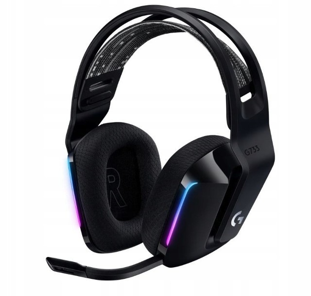 Słuchawki bezprzewodowe wokółuszne Logitech G733
