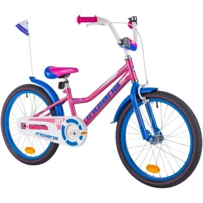 Rower dziecięcy INDIANA Roxy Kid 20 dla dziewczynki Różowy