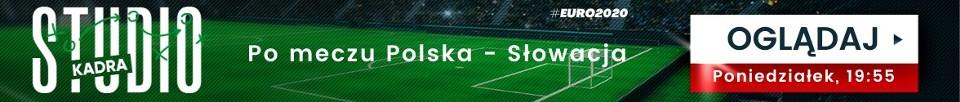 Studio Kadra na mecz Polska - Słowacja