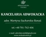 Logo firmy Kancelaria Adwokacka adw. Martyna Sucharska-Banaś