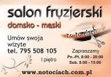 """Logo firmy Salon Fryzjerski """" No to ciach"""" Monika Pikuła"""