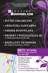 Logo firmy Prestige Designers