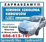 Logo firmy OŚRODEK SZKOLENIA KIEROWCÓW LEX Marek Przewoźniak