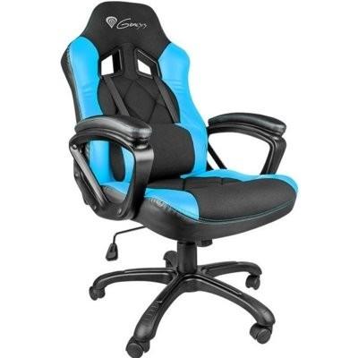 Fotel GENESIS Nitro 330 Czarno-niebieski