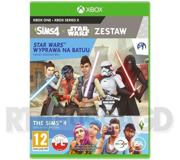 Zestaw The Sims 4 + Star Wars Wyprawa Na Batuu Xbox One / Xbox Series X