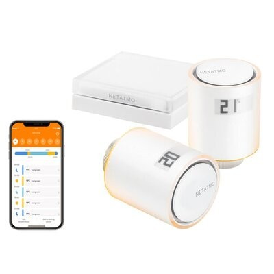 Głowice termostatyczne NETATMO Valves Set Wi-Fi