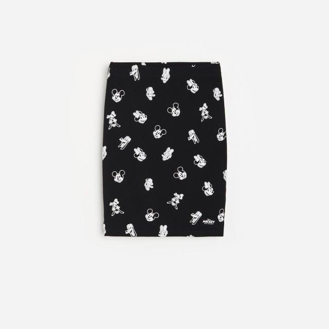 Reserved - Spódnica Disney - Czarny