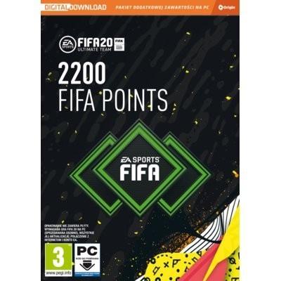 FIFA 20 Ultimate Team 2200 FIFA Points Karta pre-paid ELECTRONIC ARTS