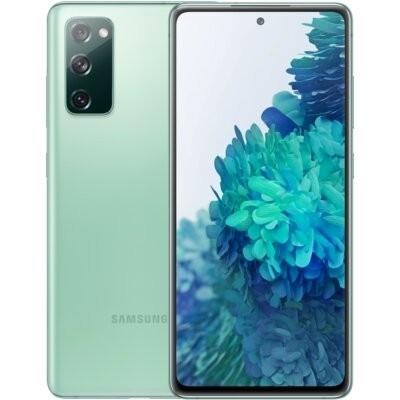 """Smartfon SAMSUNG Galaxy S20 FE 6/128GB 5G 6.5"""" 120Hz Zielony SM-G781 + Zabezpieczenie ekranu"""