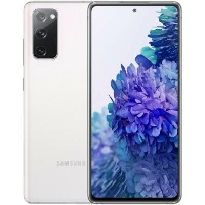 """Smartfon SAMSUNG Galaxy S20 FE 6/128GB 5G 6.5"""" 120Hz Biały SM-G781 + Zabezpieczenie ekranu"""
