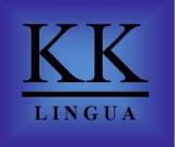 Logo firmy KK LINGUA Tłumaczenia i nauka języków obcych