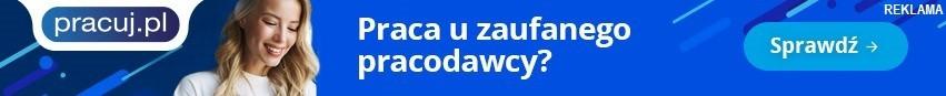 Belka promocyjna Pracuj.pl na Strony Główne SR
