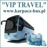 Logo firmy VIP TRAVEL Karpacz - Bus