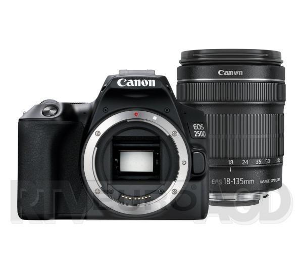 Canon EOS 250D + EF-S 18-135mm IS STM (czarny)