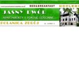 Logo firmy Jasny Dwór - Apartamenty i Pokoje gościnne