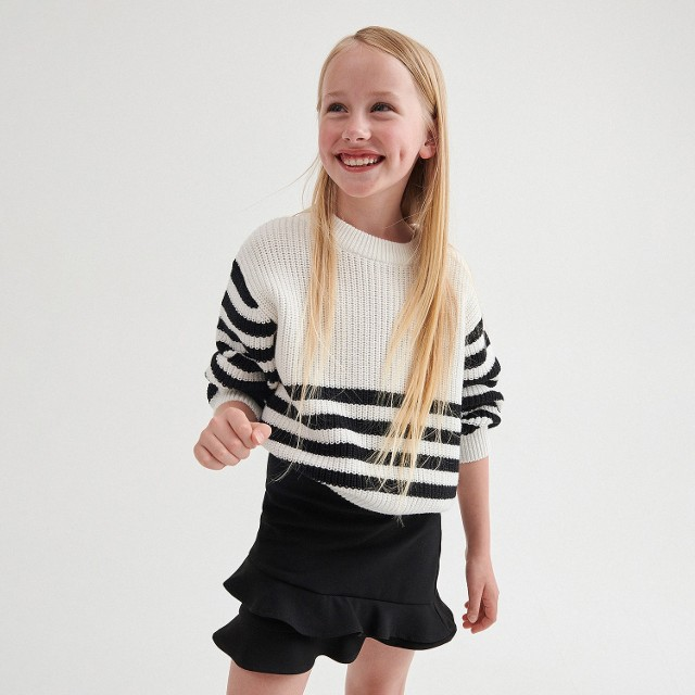 Reserved - Spódnica dziewczęca - Czarny
