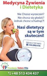 Logo firmy Dietetyk Lublin - Centrum Dietetyczne FUNDACJI VALERE VITA