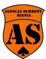 Logo firmy AS Agencja Ochrony Mienia