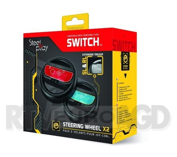 SteelPlay Steering Wheel Twin Pack Nintendo Switch