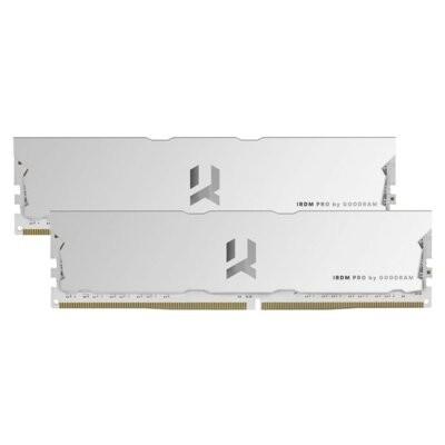 Pamięć RAM GOODRAM IRDM Pro 16GB (2x 8GB) DDR4 3600MHz CL17 Biały (Hollow White) IRP-W3600D4V64L17S/16GDC