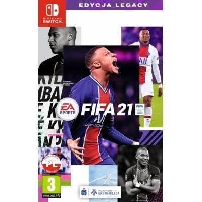 Gra Nintendo Switch FIFA 21 Edycja Legacy