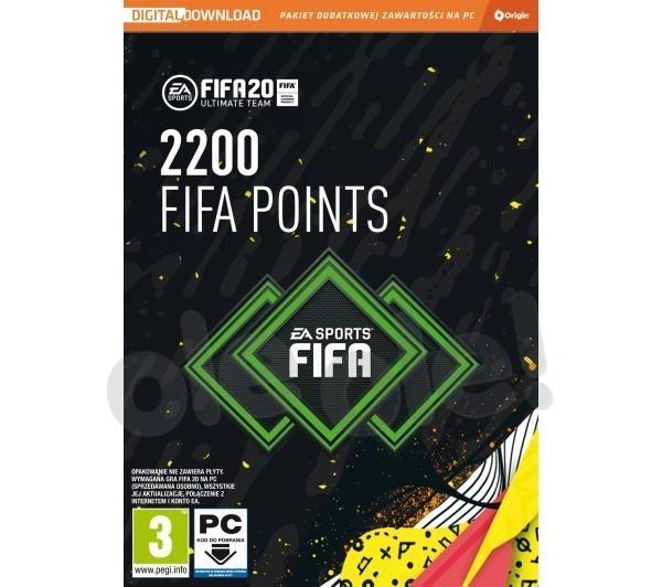 FIFA 20 - 2200 punktów PC