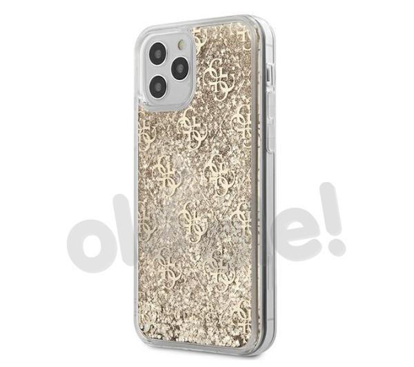 Guess Liquid Glitter GUHCP12LLG4GSLG iPhone 12 Pro Max