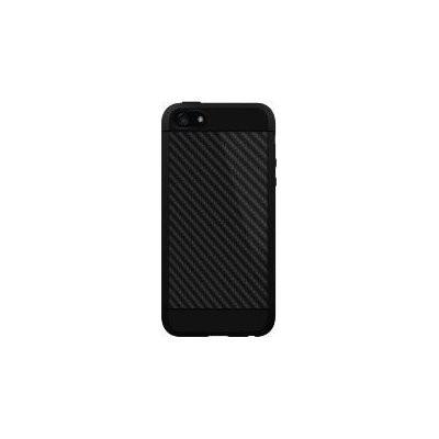 Etui HAMA Black Rock Real Carbon do Apple iPhone 5/5S/SE Czarny