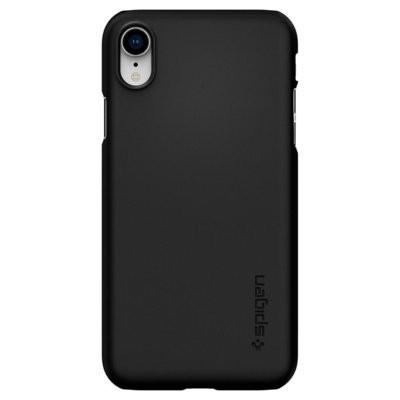 Etui na smartfon SPIGEN Thin Fit do Apple iPhone XR Czarny 064CS24864