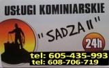 Logo firmy SADZA II Kompleksowe Usługi Kominiarskie