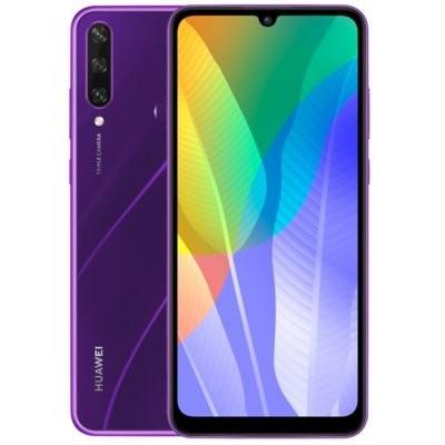 """Smartfon HUAWEI Y6P 3/64GB 6.3"""" Fioletowy 51095KYT + Zabezpieczenie ekranu"""