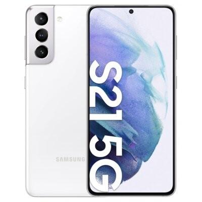 """Smartfon SAMSUNG Galaxy S21 8/128GB 5G 6.2"""" 120Hz Biały SM-G991 + Zabezpieczenie ekranu"""