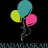 Logo firmy Madagaskar-przyjęcia dla dzieci