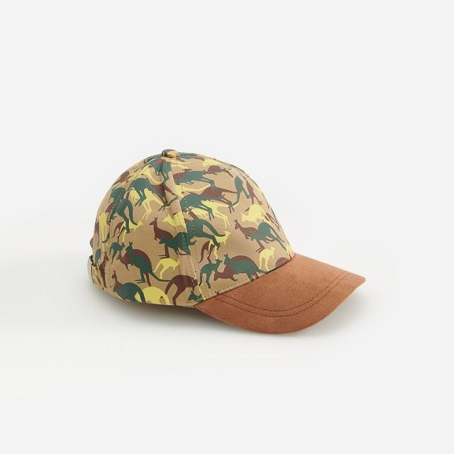 Reserved - Wzorzysta czapka z daszkiem - Beżowy