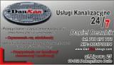 Logo firmy DanKan Usługi Kanalizacyjne Daniel Bezubik