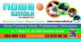 Logo firmy Nowa Szkoła