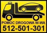 Logo firmy Pomoc drogowa Warszawa