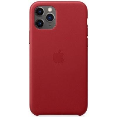Etui APPLE Leather Case do iPhone 11 Pro Czerwony