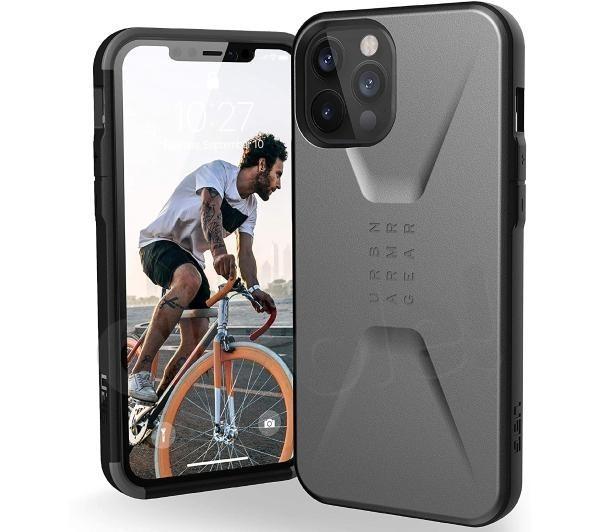 UAG Civilian Case iPhone 12 Pro Max (srebrny)