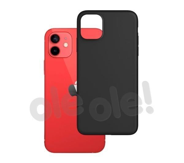 3mk Matt Case iPhone 12 / 12 Pro (czarny)