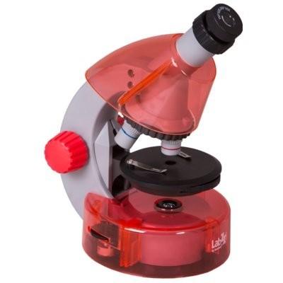 Mikroskop LEVENHUK Labzz M101 Pomarańczowy