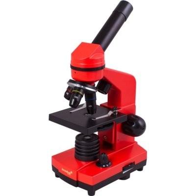 Mikroskop LEVENHUK Rainbow 2L Pomarańczowy