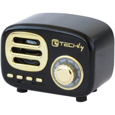Głośnik mobilny TECHLY 105476 Czarny