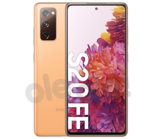 Samsung Galaxy S20 FE (pomarańczowy)