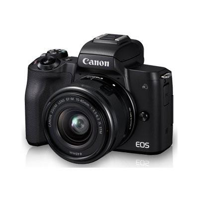 Aparat CANON EOS M50 Czarny + EF-M 15-45mm + Torba SB130 +  Karta pamięci 16GB