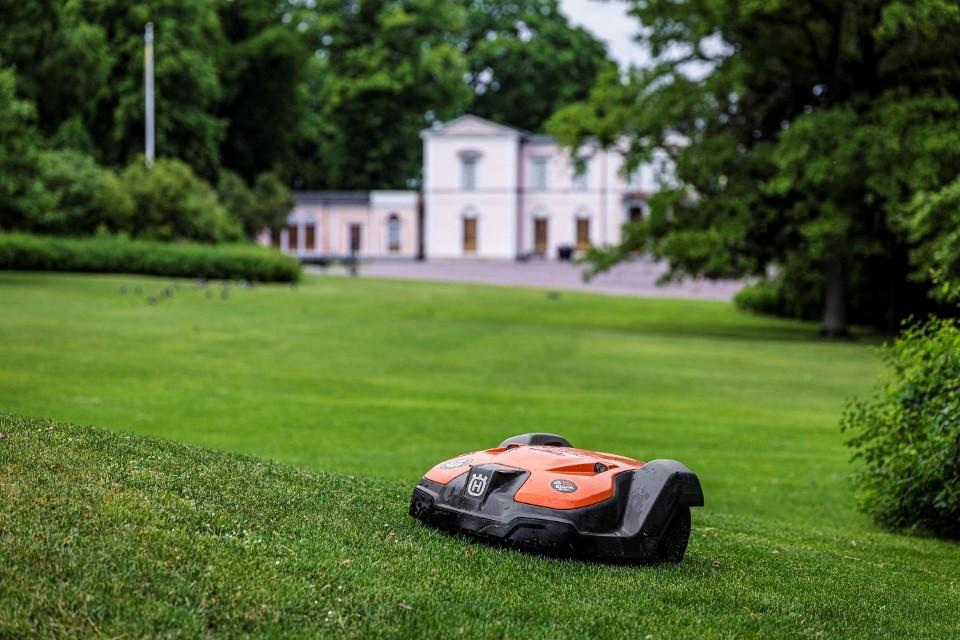 pielęgnacja trawnika robotem koszącym Husqvarna