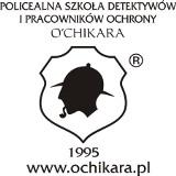 Logo firmy Policealna Szkoła Detektywów i Pracowników Ochrony OCHIKARA