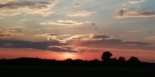 Najpiękniejsze zachody słońca  w Zduńskiej Woli i nie tylko