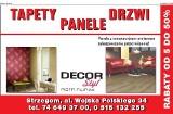 Logo firmy DECOR Styl Piotr Filipiak   PANELE   TAPETY   DRZWI